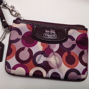 COACH MADISON MULTI COLOR WRISTLET
